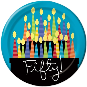 50 bd candles