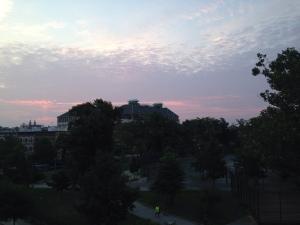 sunrise August 1 2014